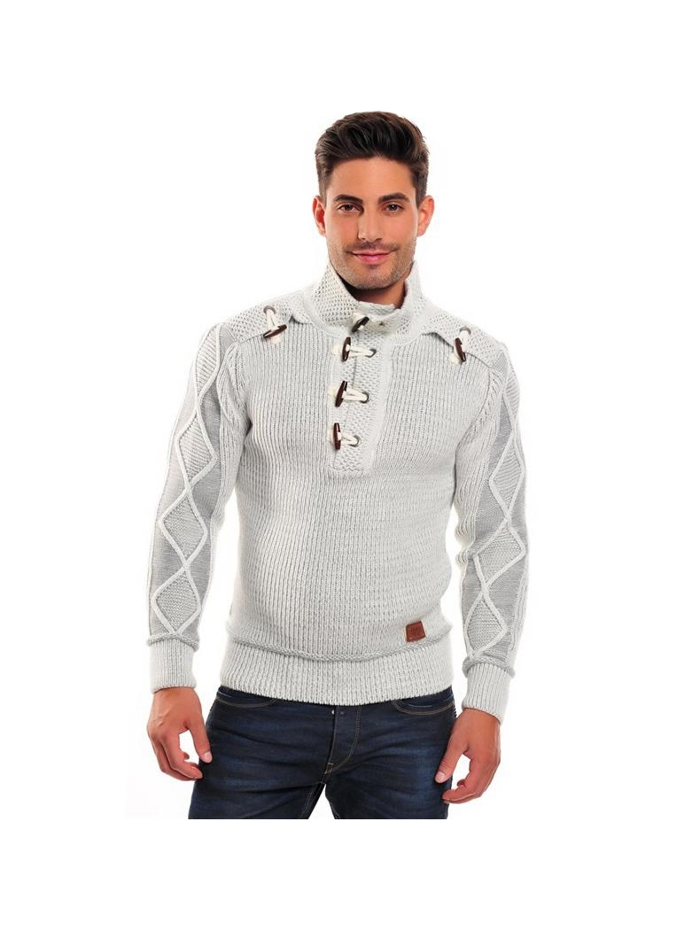 pull mode homme blanc