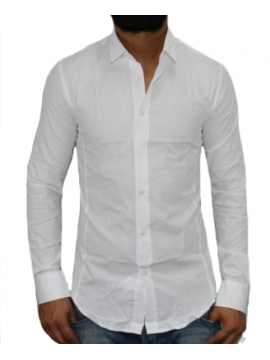 Chemise tendance blanche
