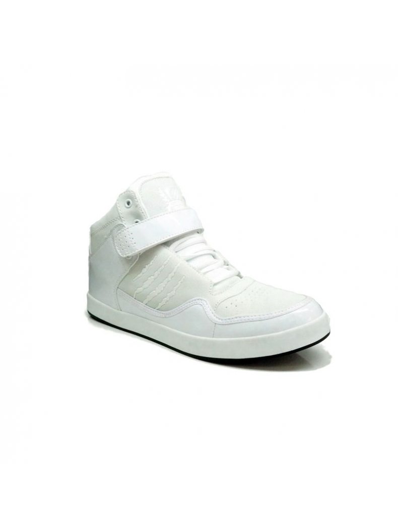 basket fashion montante blanche