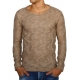 chandail homme fashion beige