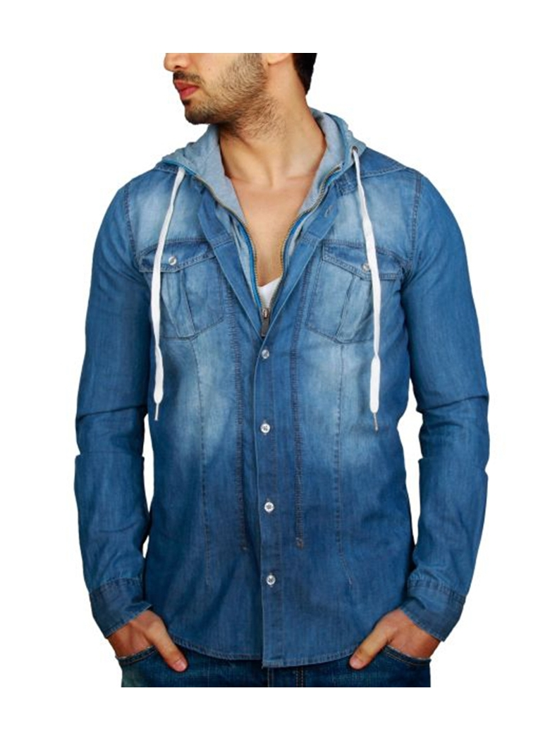 Shop CHEMISE JEAN SHARIKA from LIYANAH in Shirts, available on Tictail from € in S, M, L.