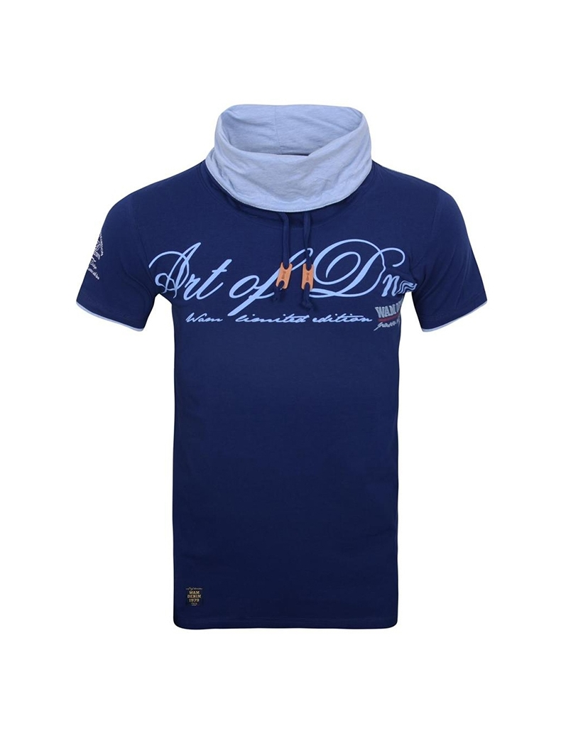 t shirt wam denim fashion bleu