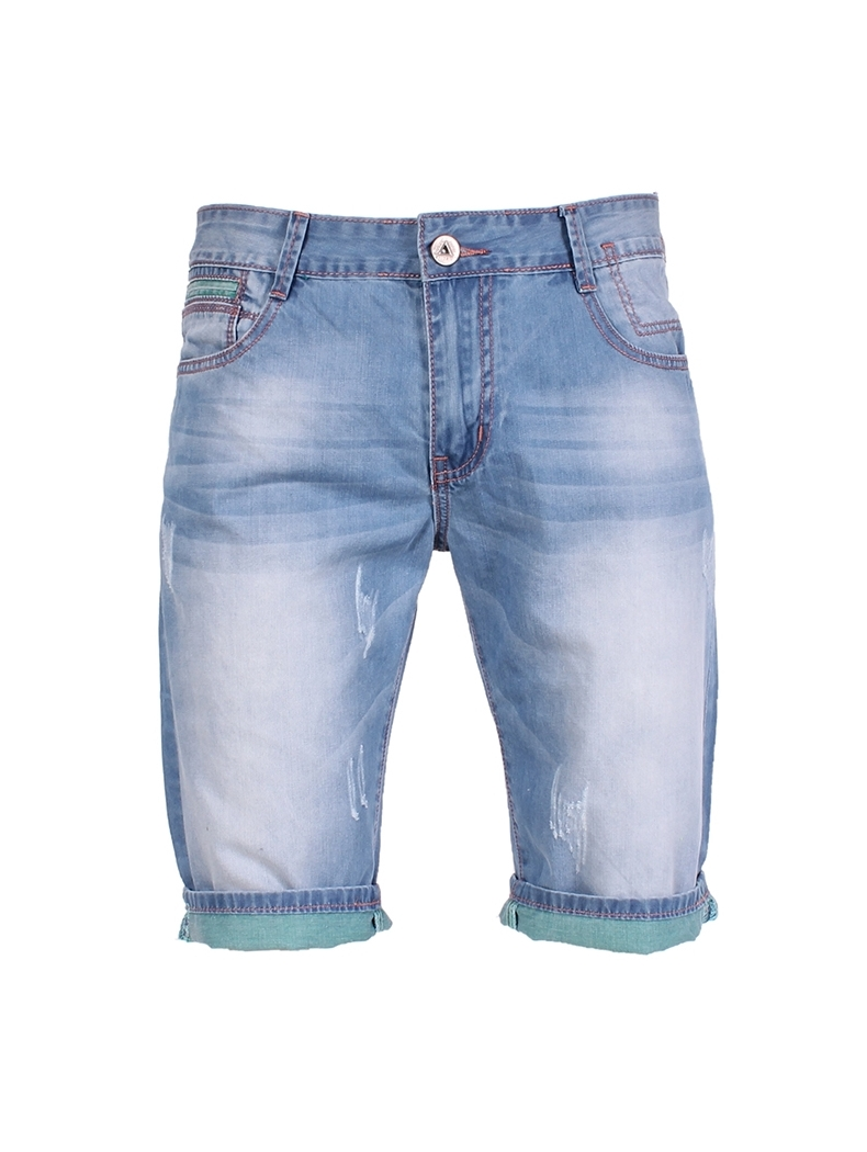 bermuda jean homme fashion