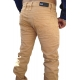 pantalon fashion homme caramel