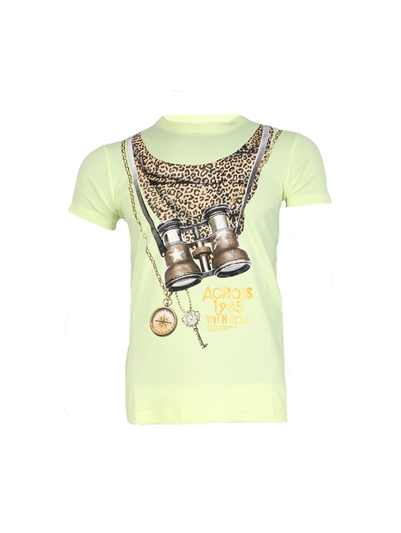 t shirt swag homme leopard
