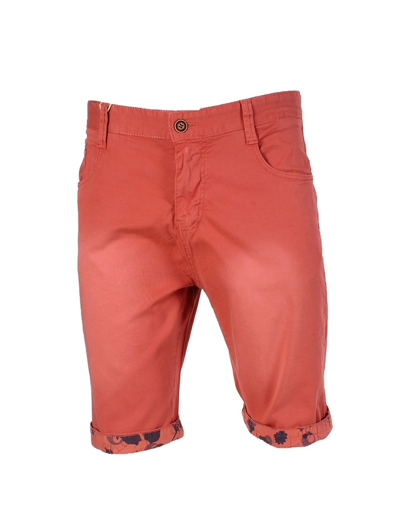 bermuda chino homme fashion rouge