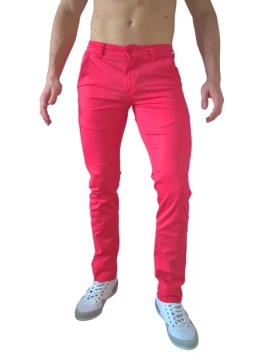 Chino fashion rouge flashy