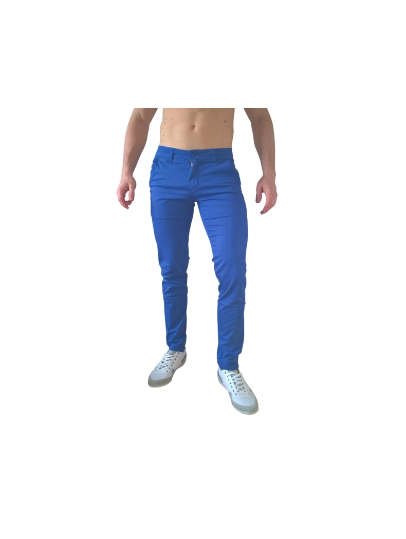 chino bleu homme collection ete 2017 tendance