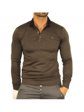 Pull marron coonless tendance pour homme