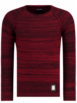Pull swagg rouge pour homme