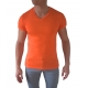 tshirt fashion pas cher couleur orange