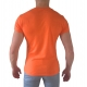polo slim orange manche courte promo 2017