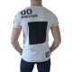 t shirt blanc homme imprime graphic vetements ete pas cher