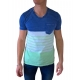 t shirt homme manches courtes style marin