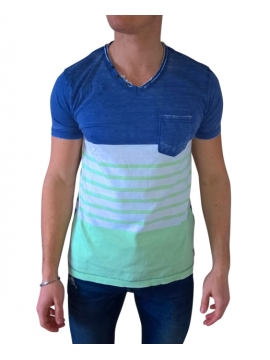 T shirt style marin pour homme