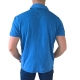polo manches courtes rugby homme bleu
