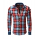 chemise homme a carreaux taille cintree