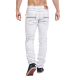 jeans fashion blanc homme