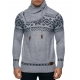 pull over gris homme fashion pas cher