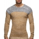 pull homme maille marron pas cher br