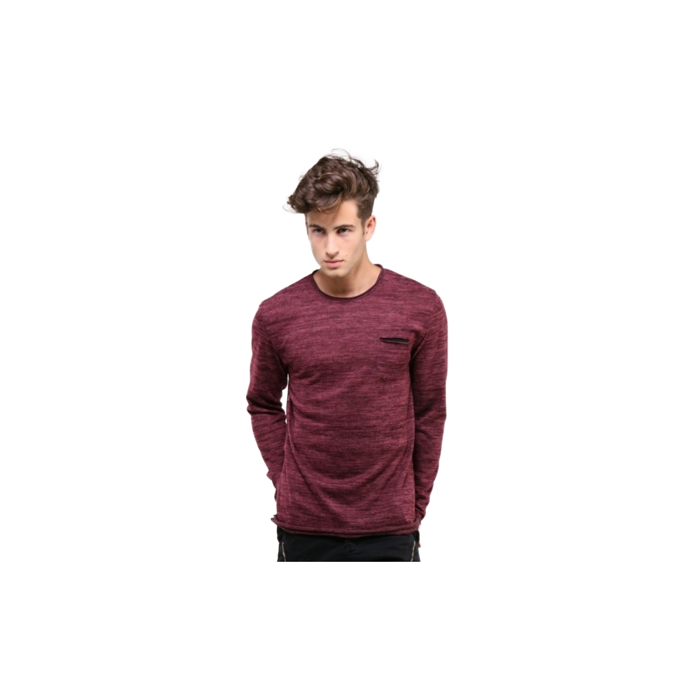 tee shirt homme pas cher manche longue t shirts couleur bordeaux. Black Bedroom Furniture Sets. Home Design Ideas