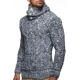 pull col roule homme pas cher gris pulls tendance