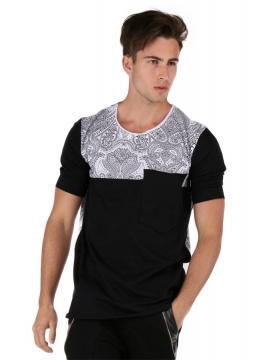 Tee shirt ethnique homme