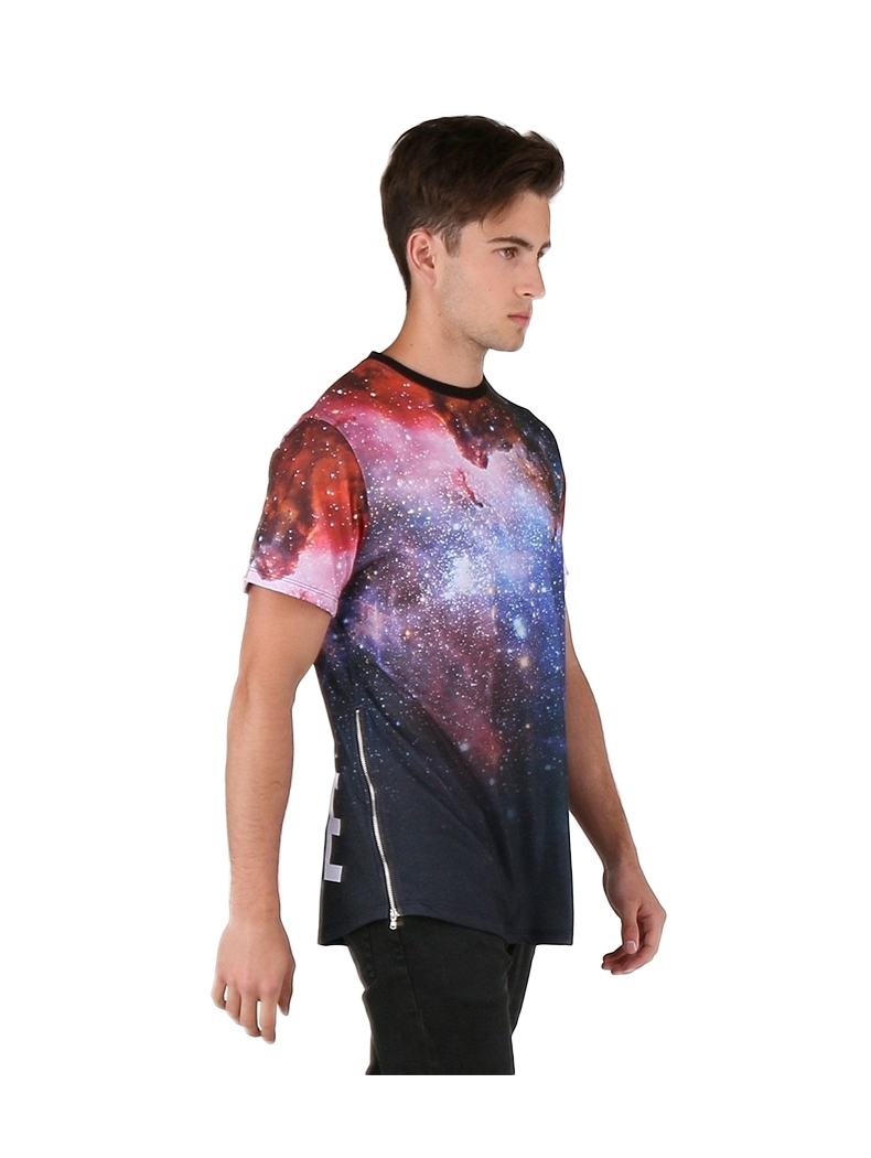 tee shirt oversize homme galaxy monsterpiece
