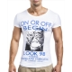 tee shirt homme imprime