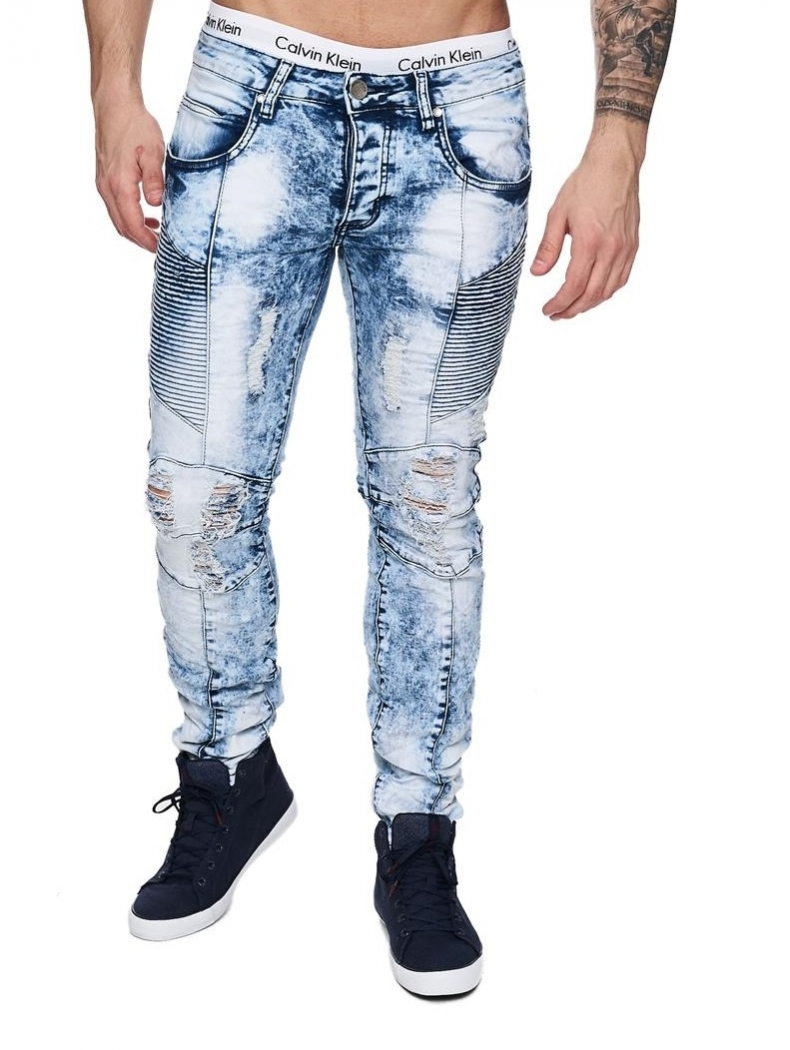 jeans troue javelise taille basse fringue homme tendance