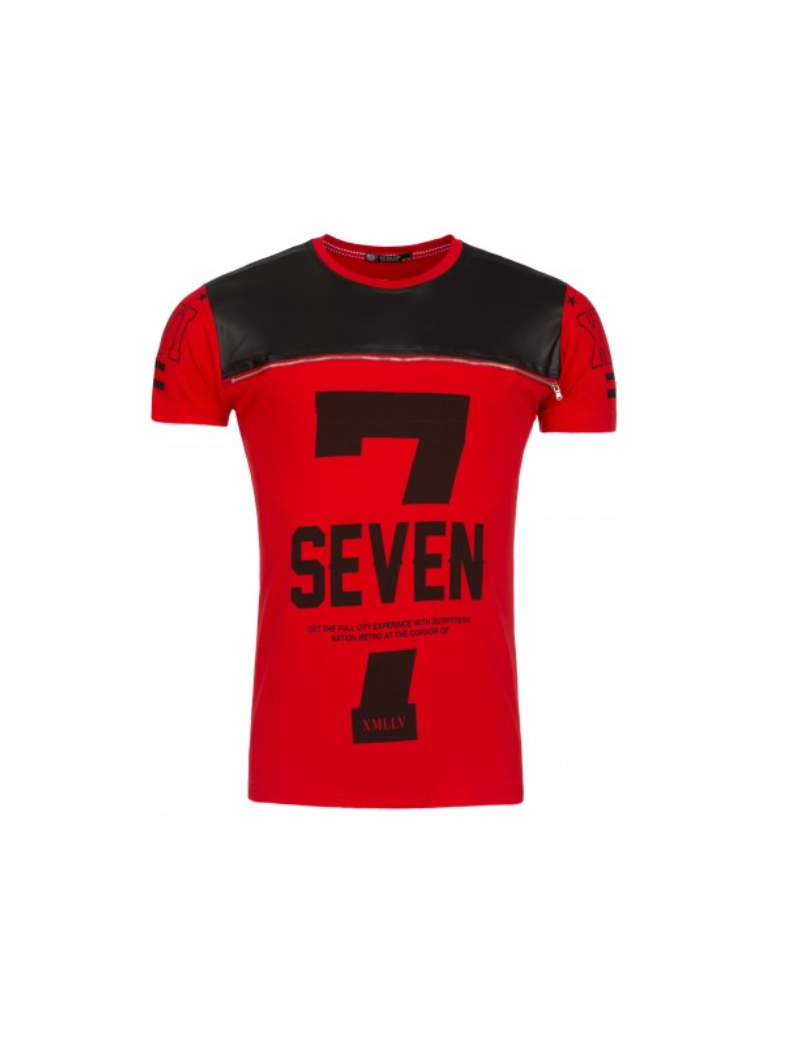 tee shirt seven rouge fashion