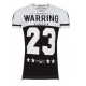 tee shirt warring noir et blanc