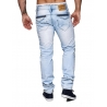 pantalon denim troue jeans bleu mode homme